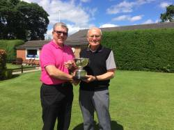 John Kendrick and Brian Banfield - winners of the Beetlestone Bowl 2017