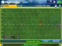 -- Look at the grouping of your shots, great for comparing the distance of different clubs