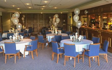 Function Room set for a celebration